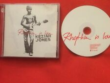 RHYTHM IS LOVE KEZIAH JONES CD