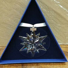 SWAROVSKI 2017 ANNUAL CHRISTMAS STAR / SNOWFLAKE ORNAMENT #5257589 - NEW