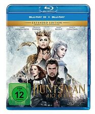 THE HUNTSMAN & THE ICE QUEEN (3D)   BLU-RAY NEU CEDRIC NICOLAS-TROYAN