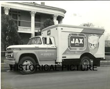 JAX BEER TRUCK VINTAGE RARE 1950'S NEW ORLEANS LOUISANA PHOTO TEMPLE TEXAS