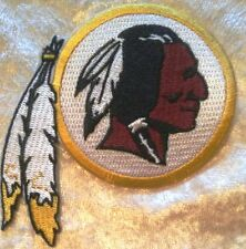 "Washington Redskins 3.5"" Iron On Embroidered Patch ~USA Seller~FREE Ship"