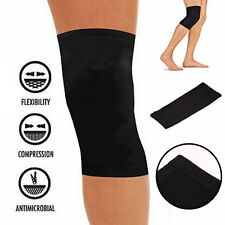 Fit Copper Infused Knee Compression Sleeve Support Brace Joint Pain Tool