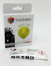 TASSIMO SERVICE CLEANING T DISC DISK & 2 DESCALING TABLETS . 621101, 311530S