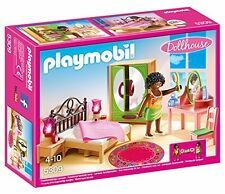Playmobil Dollhouse Master Bedroom Set 5309 (for Kids 4 to 10)