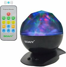 SOAIY® Color Changing LED Night Light Lamp With Remote Night Upgraded Version