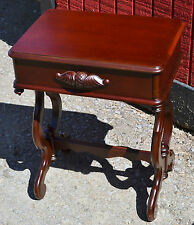 BEAUTIFUL MAHOGANY VICTORIAN STYLE  END TABLE or NIGHT STAND