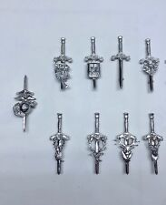 TRADITIONAL SCOTTISH KILT PIN CELTIC THISTLE DRUM HARP BAGPIPE CHOOSE ANY
