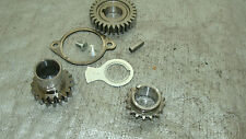 1977 YAMAHA XT 500 D ENDURO OEM CRANK PRIMARY DRIVE GEAR WITH FASTENERS