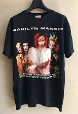 vintage MARILYN MANSON by Michael SEX DRUGS AND ROCK & ROLL Tour Concert t-shirt