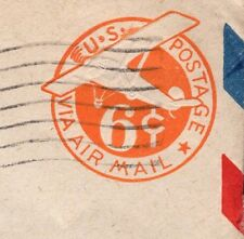 SCARCE Air Mail Die Entry Tail Censor APO 503 1945 ? PSE Cover 8r