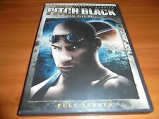 Pitch Black (DVD, 2004, Unrated, Director's Cut, Full Frame) Vin Diesel Used