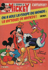 journal de MICKEY n°1567 la coupe champions en herbe !