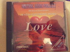 VIRTUAL AUDIO PROJECT - LOVE (CYBERTRACKS). CD