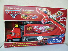 mack playset 3 in 1 cars parlante talking italian truck camion doc mattel L7530