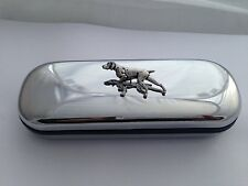 A30 Pointer   Motif On a Chrome Glasses Case