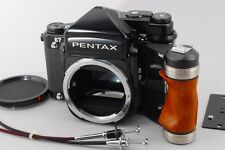 [Mint] Pentax 67 TTL Medium Format Camera MLU w/ Wood Grip from Japan #5607