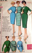LOVELY VTG 1960s DRESS Sewing Pattern 14/34