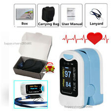 CE  FingerTip Pulse Oximeter OLED Blood Oxygen SPO2 Pulse Heart rate monitor