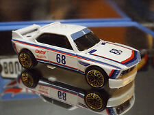 2016 Hot Wheels SPECIAL CUSTOM '73 BMW 3.0 CSL RACE CAR with Real Riders