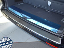 VW T5 2003-15 Rear Bumper Profiled Protector Stainless Steel Scuff Cover