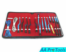 AA Pro: High Class Bipolar Bayonet Forceps Electrosurgical Instruments Set