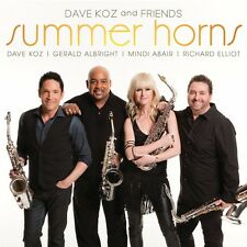 Summer Horns - Dave Koz (2013, CD NIEUW)