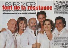 Coupure de presse Clipping 2005 Les Bronzés font de la Résistance (6 pages)