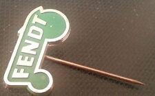 Fendt Spilla verniciato d'oro Trattore 25x14mm vecchio+ originale