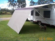 Shade Curtain/Privacy Screen for caravan Roll out Awning 1.8 x 6.0m.(6ft x 20ft)