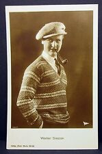 Walter Slezak - Movie Photo Postcard - AK - Foto Autogramm Karte (Lot G-6365