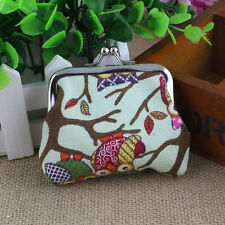 Ladies Womens Girls Wallet Key Card Holder Case Coin Purse Clutch Handbag Bags W
