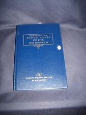 1967 Handbook of United States Coins With Premium List.24th Ed by R.S. Yeoman