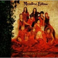 Mediaeval baebes-worldes blysse CD 16 tracks scottish folk/pop NEUF