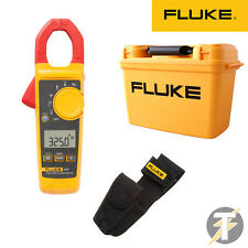 Fluke 325 True RMS Digital Clamp Meter, H3 Holster & C1600 Tool Box Case