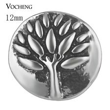 Small 12mm Tree of Life Vocheng Snap Charms Button Chunk Vn-1700