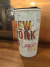 Starbucks New York State DoubleWall Ltd Edition Traveler Tumbler Ceramic Mug NEW