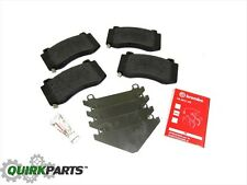 06-10 JEEP GRAND CHEROKEE SRT8 FRONT BREMBO DISC BRAKE PADS SET OF 4 NEW MOPAR