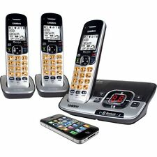 UNIDEN DECT 3136BT+2 CORDLESS PHONE DUAL MODE BLUETOOTH WORKS IN BLACKOUTS^