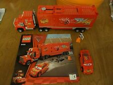 LEGO Disney Cars 2 HTF Special Edition 8486 Mack's Team Truck set