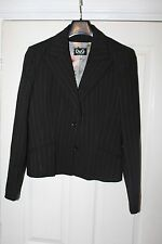 DOLCE & GABBANA Ladies Black Red-Striped Single Breasted Trouser Suit UK 12-14?