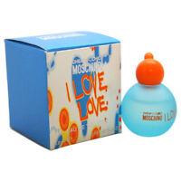 MOSCHINO I LOVE LOVE 0.16 oz / 4.9 ML EDT Splash Miniature Women - NEW IN BOX