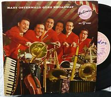 "10""  THE HAZY OSTERWALD SEXTETT – Goes Broadway  Heliodor Lp 1958"