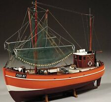 "Beautiful, brand new model ship kit by Billing Boats: the ""Krabbenkutter"""