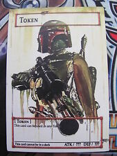 Yugioh Common Orica Boba Fett Token