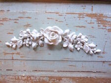 SHABBY n CHIC ROSE CENTER * FURNITURE APPLIQUES * FLEXIBLE * PAINTABLE