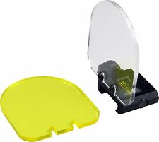 4mm Thick Acrylic Clear Yellow Optic Lens Sight Protector Shield Airsoft Paintba