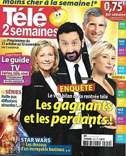TELE 2 SEMAINES N°309 31 OCTOBRE 2015 BILAN RENTREE TV/STAR WARS/ VUILLEMIN/TARA