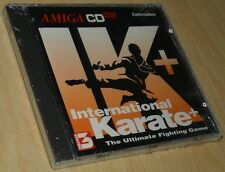 ~ ik + International Karate + ~ Commodore Amiga cd32/embalaje original ~ Boxed ~ English