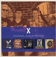 X Original Album Series BOX SET Los Angeles WILD GIFT More Fun NEW SEALED 5 CD