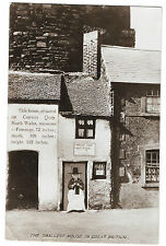Conway Quay, North Wales, Smallest House in GB, RP PPC, Llandudno PMK 1929